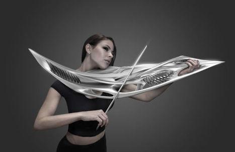 This 3D Printed Violin Looks Like A Klingon Weapon | News we like | Scoop.it