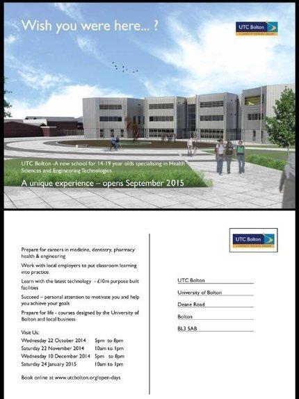 Open days at UTC Bolton... Medicine, dentistry, pharmacy health &engineering. | Technology | Scoop.it