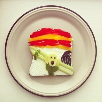 The Art Toast Project by Ida Skivenes Recreates Famous Works of ... | The Curious World | Scoop.it