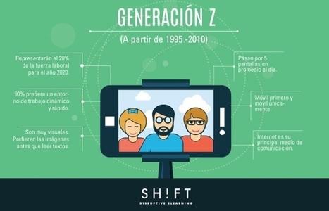 Generación Z: ¿Quiénes son y cómo capacitarlos? | Learning | Scoop.it