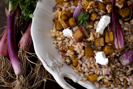 Farro and Roasted Butternut Squash Recipe - 101 Cookbooks | ¿Vege-Que? Healthy Recipes and Resources | Scoop.it