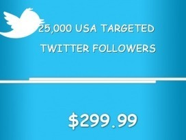 Buy USA Targeted Twitter Followers | Get More Twitter Followers | Social Service Point | Scoop.it