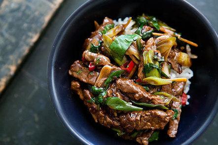 Stir Fry Ginger Beef on Fetch My Recipe | Beefy Beef | Scoop.it