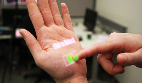 Remember Patti Maes' Sixth Sense? Omnitouch Turns Any Surface Into A Touchscreen | Co.Design | Tracking Transmedia | Scoop.it