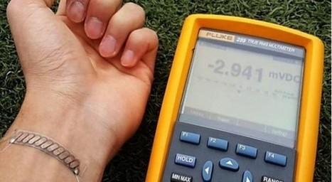 Un sparadrap pour recharger son smartphone et sa montre connectée !   Malle aux trésors   Scoop.it