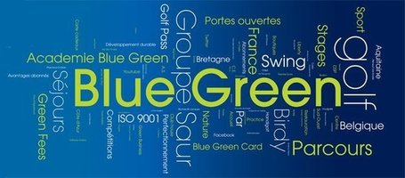 Blue Green - Travel/Leisure - Baillet-en-France, France | Facebook | Le golf vu par Blue Green | Scoop.it
