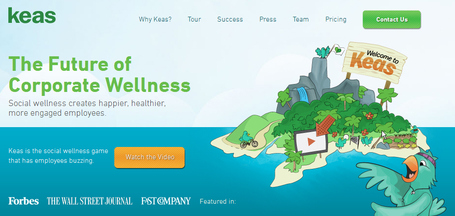 Keas CEO on Employee Wellness and Social Games | Quantified-Self & Gamification | Scoop.it