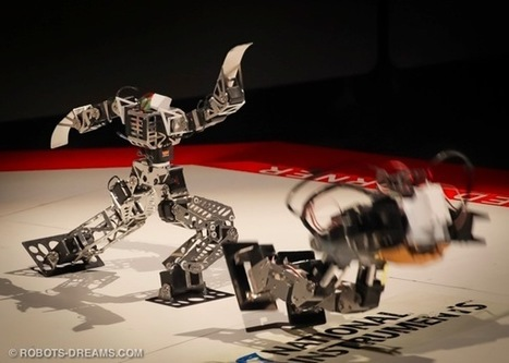 Robo-One tournament : duel de mini robots humanoïdes | veille technologique sur la robotique | Scoop.it