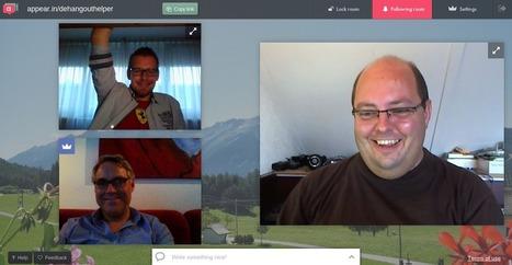 199. Appear.in: Voer real-time videogesprekken met maximaal 8 personen. | Mediawijsheid in het VO | Scoop.it