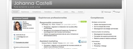 DoYouBuzz : Créez gratuitement un CV design et efficace | Curriculum Vitae | Scoop.it