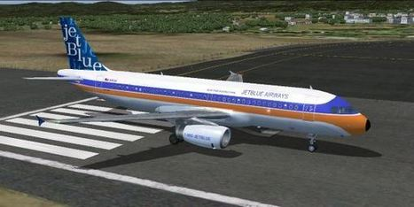 "FSX/FS2004 – Airbus A320 Jetblue Airways ""Whath's Old Is Blue Again"" 