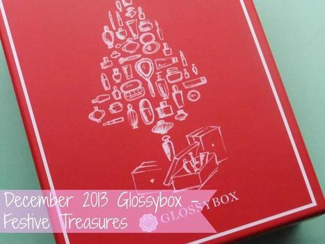 Raspberrykiss | UK Beauty Blog: December 2013 Glossybox - Festive Treasures | Beauty | Scoop.it