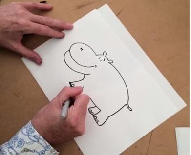 Children's illustrators' doodles: watch them in action! | SpyXotic.com | Scoop.it