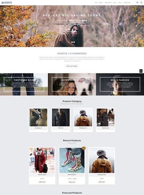 TM Shopite - Responsive WooCommerce WordPress Theme | Free & Premium Joomla Templates and WordPress Themes | Scoop.it