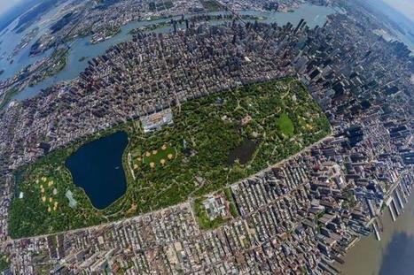 Twitter / EarthPix: Central Park, Bird's-eye view, ... | Central Park | Scoop.it