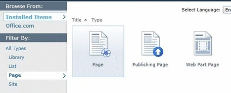 Wiki Pages vs Web Part Pages vs Publishing Pages | SharePoint | Scoop.it