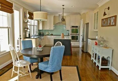 Design master class: Kitchen remodel in lakefront home maximizes storage, view - News & Observer | Led Lights | Scoop.it