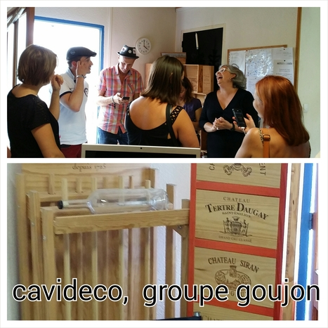 Sharebordeaux | Cavidéco, SAS Pierre Goujon | Oeno-digital | Scoop.it