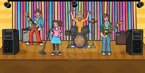 Little Rockers Performs at KiDz HuB Microsoft Broadcast Feb 16, 2012 @ 3-5PM | Safe Family News! | Scoop.it