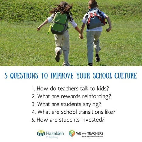 WeAreTeachers: Tips for Measuring & Analyzing Improvement in Your School Culture | On education | Scoop.it
