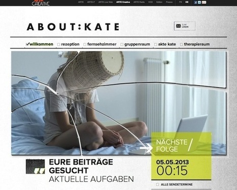 """New case study for ARTE's transmedia project """"About:Kate"""" 