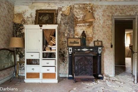 Urbex: Manoir Aux Portraits | Urban Decay Photography | Scoop.it