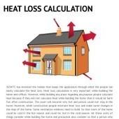 Infographic: HEAT LOSS CALCULATION | Infogram | Heat Loss Calculation | Scoop.it