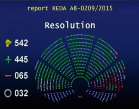 Le rapport de Julia Reda adopté par le Parlement européen | Libraries | Scoop.it
