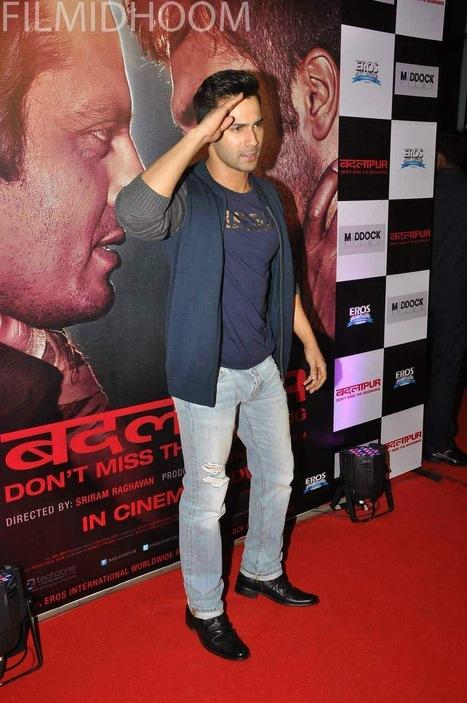 Varun Dhawan at Badlapur Success Bash | newfilmstills.com | Scoop.it