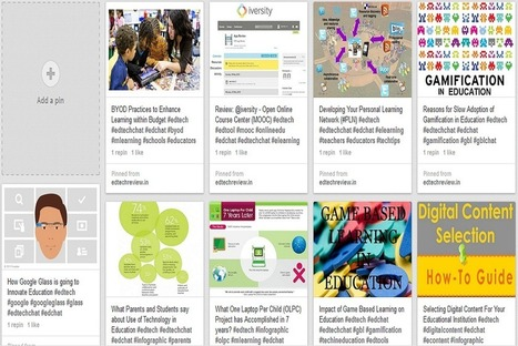 Pinterest: A Curation Tool in Education - EdTechReview™ (ETR) | Curation Tools | Scoop.it