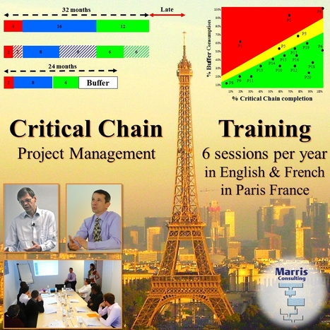 Critical Chain training several times per year in Paris France | Critical Chain Project Management | Scoop.it