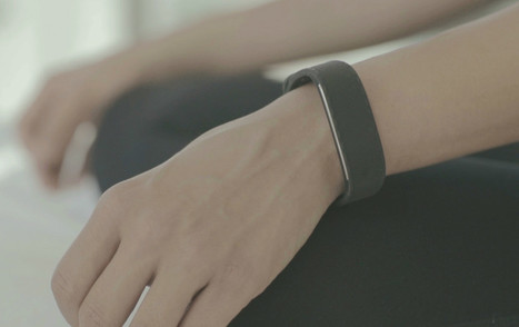 This smart wristband wants to help out when stress gets too much | Patient Hub | Scoop.it