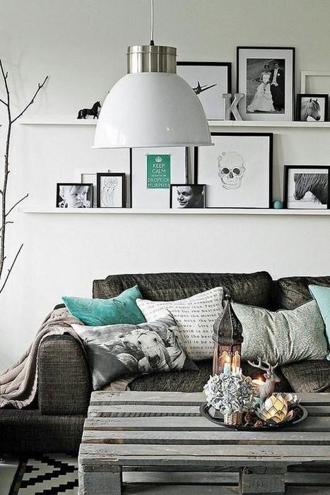 Inspiration déco pour un petit salon – Cocon de décoration: le blog | Décoration | Scoop.it