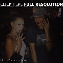 Mandy Capristo celebrates with Rihanna | Entertainment Biographies | Scoop.it
