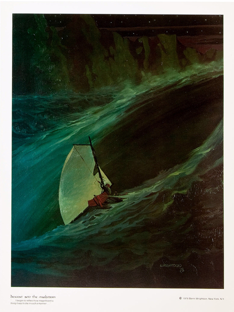 The Edgar Allan Poe portfolio by Bernie Wrightson,... - The Bristol Board | Eightball | Scoop.it
