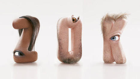 Just My Type? Human-Flesh Letters Will Haunt Your Dreams | creativity & technology | Scoop.it