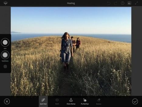 Rigel, le futur Photoshop pour appareils mobiles sortira en octobre | Web-design et nouvelles technos | Scoop.it