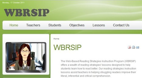 Web-Based Reading Strategies Instruction Program | UDL & ICT in education | Scoop.it