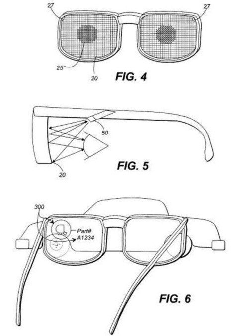 Google Glass patent applications: bone conduction, laser-projected keyboard and more | Technology Entrepreneurship | Scoop.it