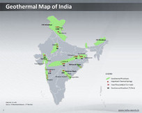 Geothermal Energy Map of India - PowerPoint Slide   Special Purpose Maps   Scoop.it