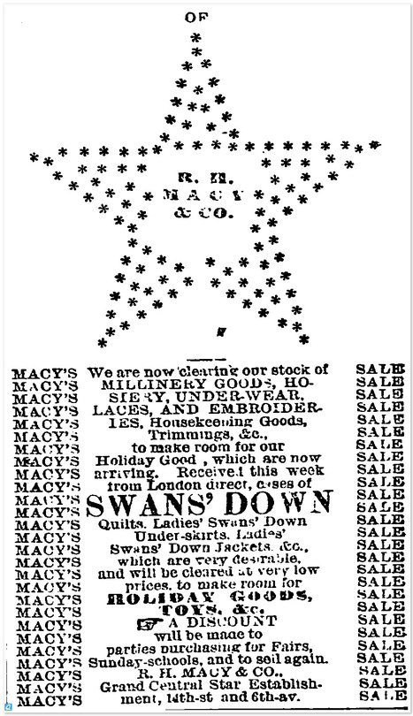 Macy's does crude ASCII art in 1872 | ASCII Art | Scoop.it