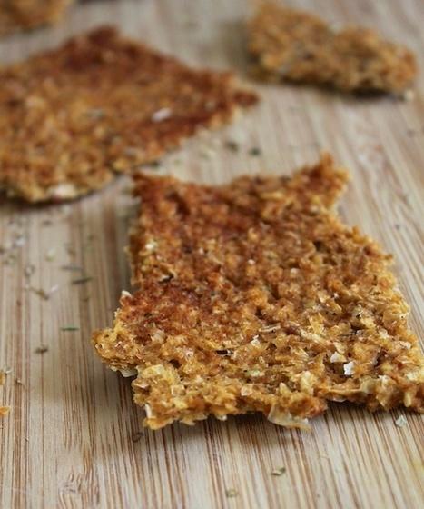 Smoked Paprika Corn Crackers | My Vegan recipes | Scoop.it