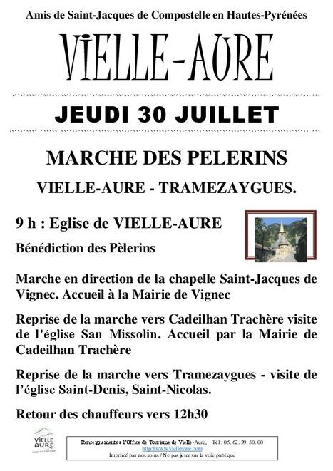 Marche des pélerins entre Vielle-Aure et Tramezaygues le 30 juillet | Vallée d'Aure - Pyrénées | Scoop.it