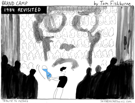"""What would Steve Jobs do?"" cartoon 
