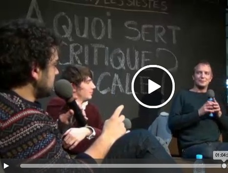 « À quoi sert la critique musicale ? » : discussion organisée par la revue Audimat by La Gaîté Lyrique | MusIndustries | Scoop.it