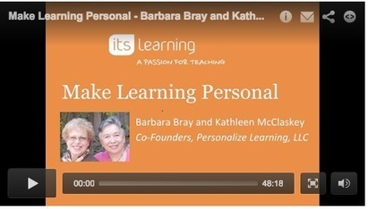 Webinar: Make Learning Personal | Personalize Learning (#plearnchat) | Scoop.it