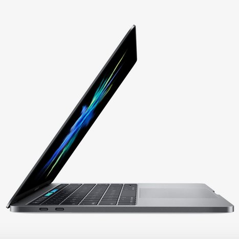 Apple redesigns MacBook Pro to include touch-sensitive second screen | DESIGN NOW | Scoop.it