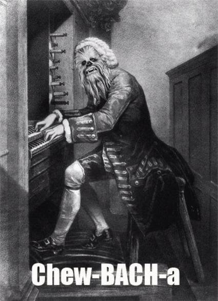 Funny LOL. Star Wars. Chewbacca does classical music ... | Classical Music | Scoop.it