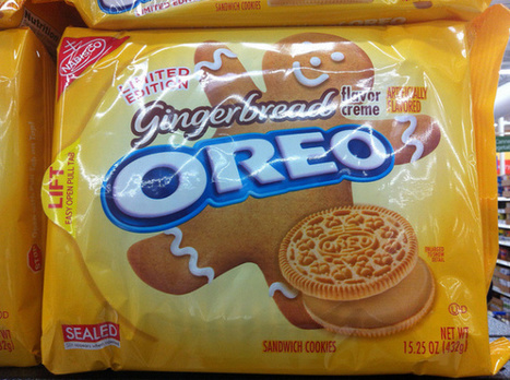 Now At Walmart: Gingerbread Oreos | It's Show Prep for Radio | Scoop.it
