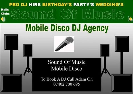 S.O.M. Mobile DJ Hire & Mobile Discos In Croydon London in Croydon - DJs and Discos | Disco Hire & DJ Hire London Hire DJs & Mobile Discos | Scoop.it